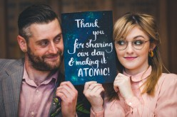 Curious Magpie- Science Geeks Wedding-Couple Sign