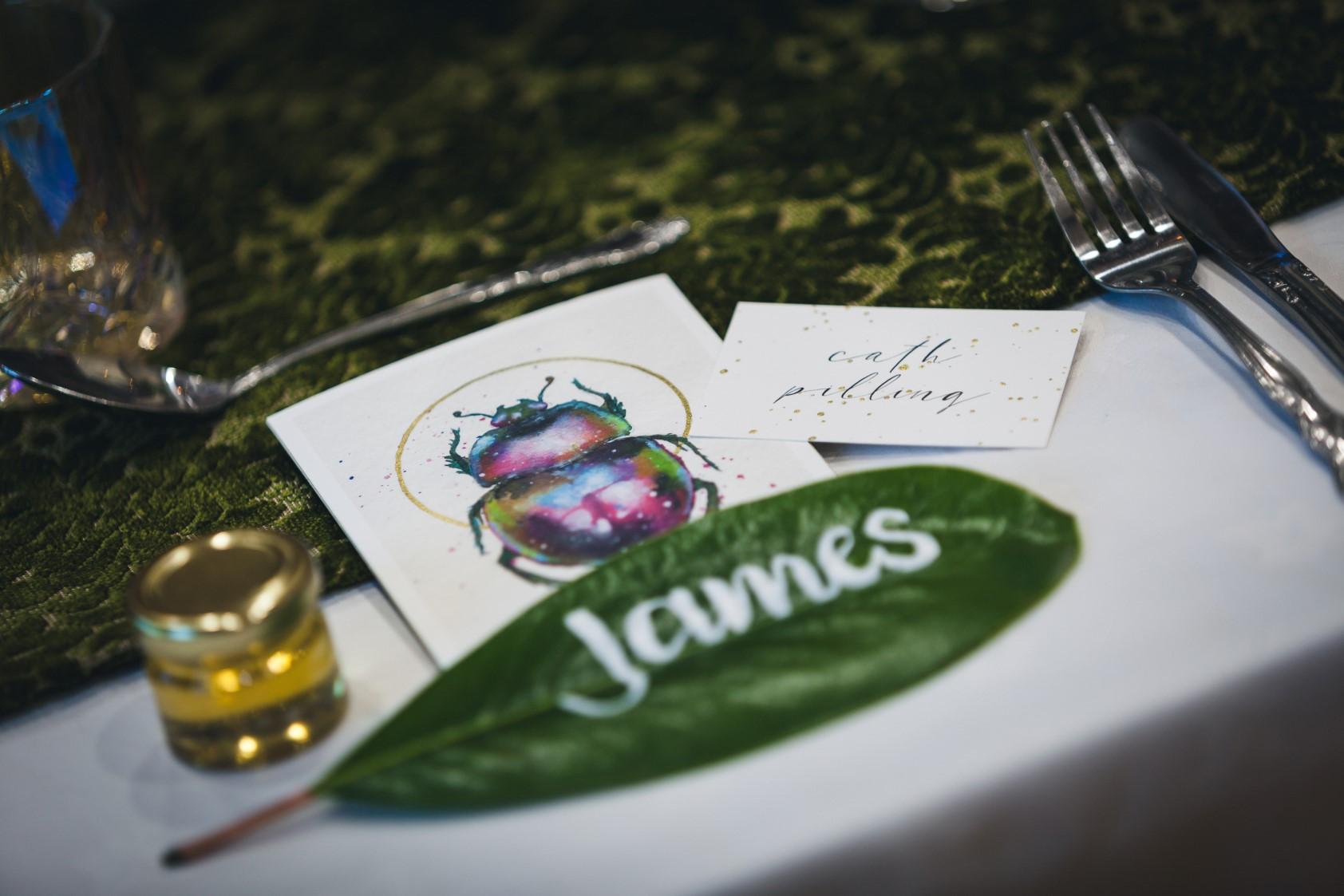 Curious Magpie- Science Geeks Wedding-Leaf