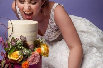 Abundance crystals- colourful wedding-cake 2