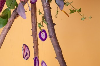 Abundance crystals- colourful wedding- tree 2