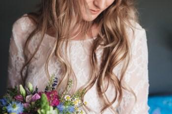 Festival Wedding- Joelle Poulos- Bride Flowers