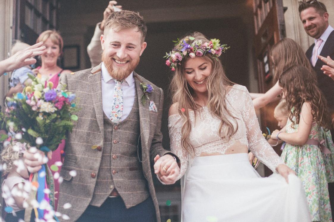 Festival Wedding- Joelle Poulos- Confetti