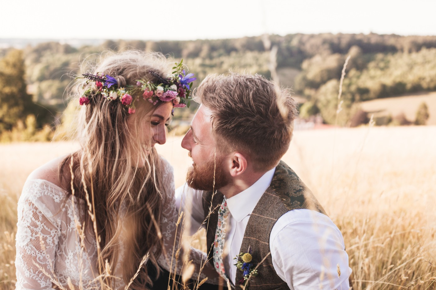 Festival Wedding- Joelle Poulos- Grass