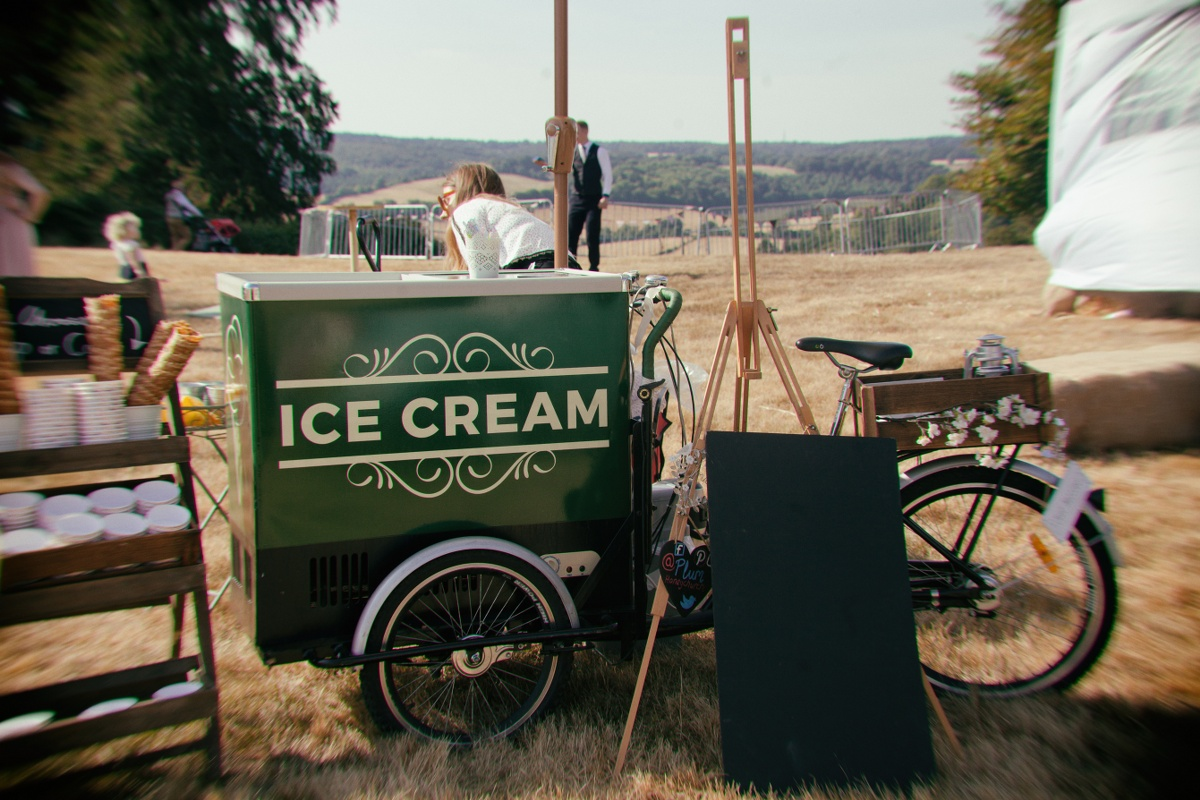 Festival Wedding- Joelle Poulos- Ice Cream