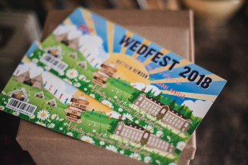 Festival Wedding- Joelle Poulos- Invites