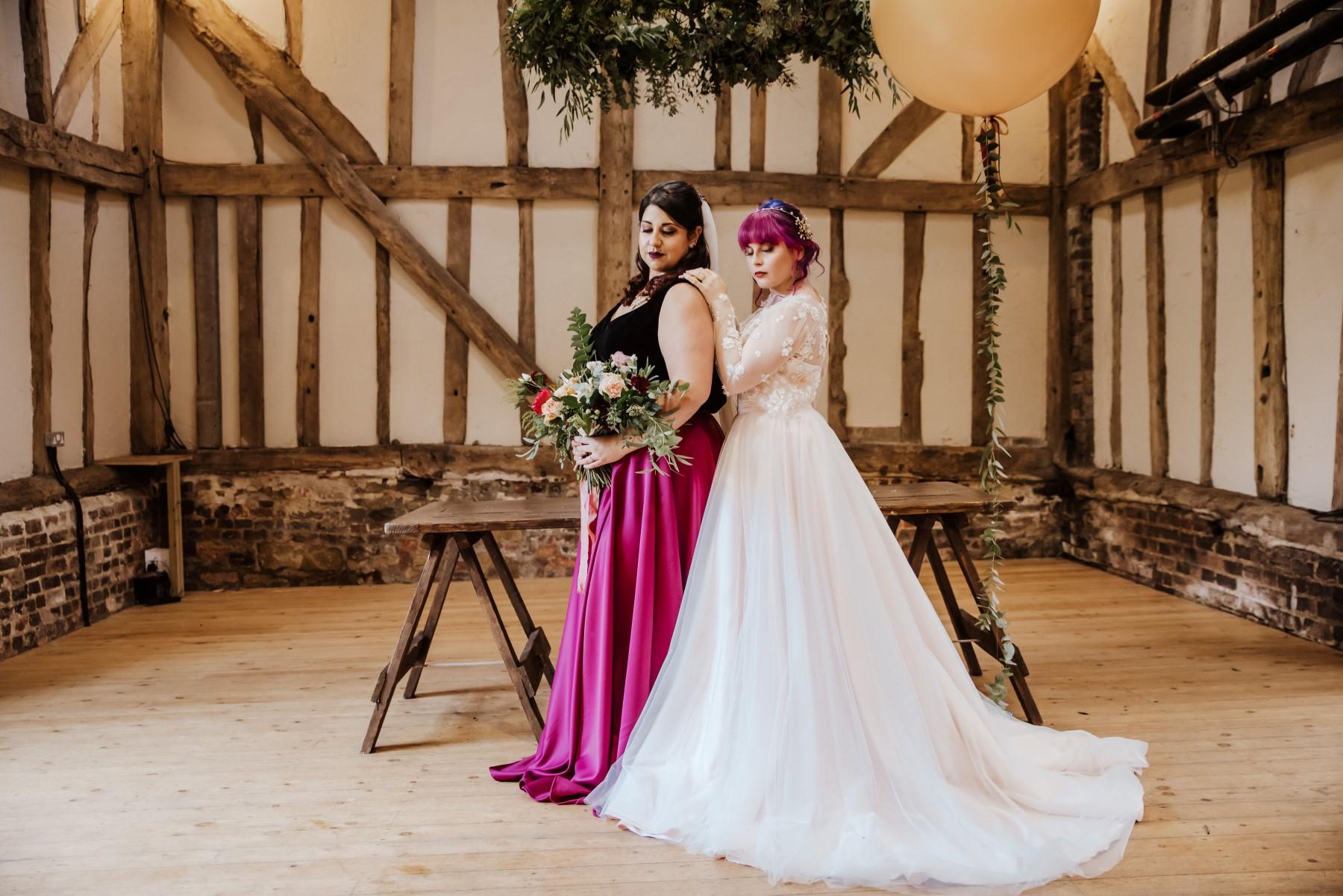 Roshni Photography- Barn Wedding Shoot- Couple 3