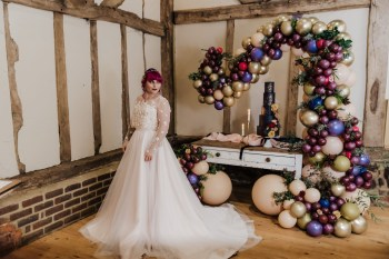 Roshni Photography- Barn Wedding Shoot- Display