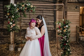 Roshni Photography- Barn Wedding Shoot- Outside