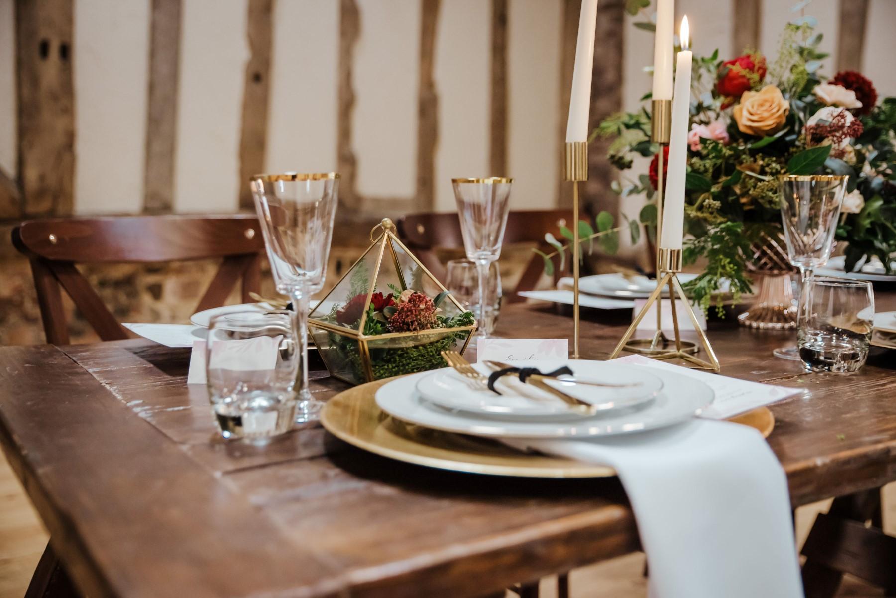 Roshni Photography- Barn Wedding Shoot- Table 2
