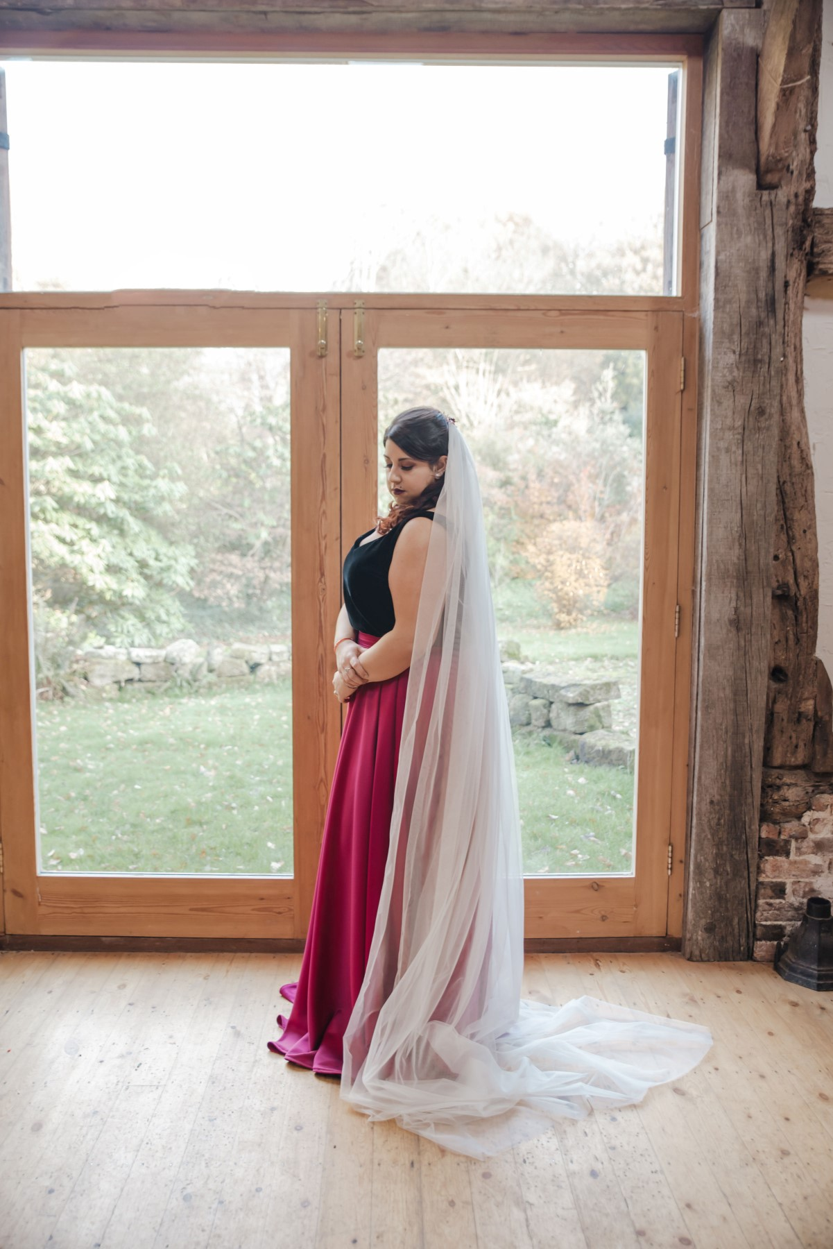 Roshni Photography- Barn Wedding Shoot- Window