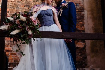 A gothic wedding - national justice museum wedding - alternative wedding - Vicki Clayson Photography 1