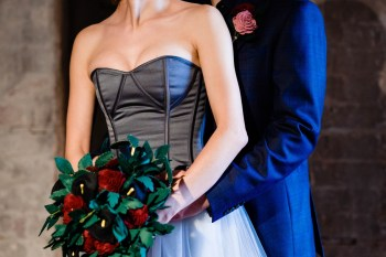 A gothic wedding - national justice museum wedding - alternative wedding - Vicki Clayson Photography 2 (4)