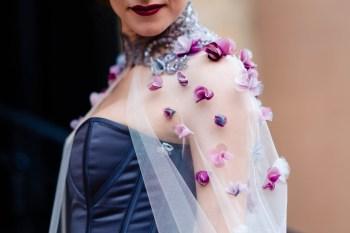 A gothic wedding - national justice museum wedding - alternative wedding - Vicki Clayson Photography (20)