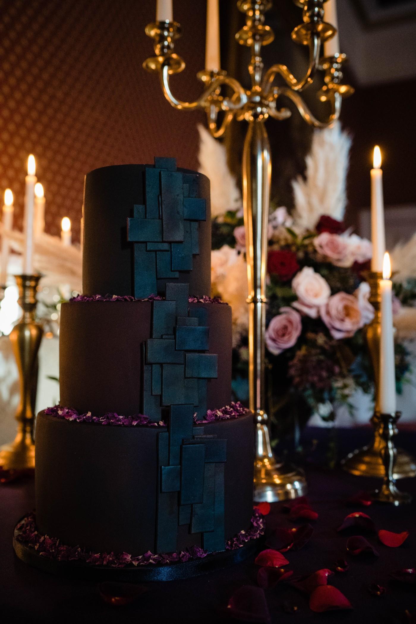 A gothic wedding - national justice museum wedding - alternative wedding - Vicki Clayson Photography (25)