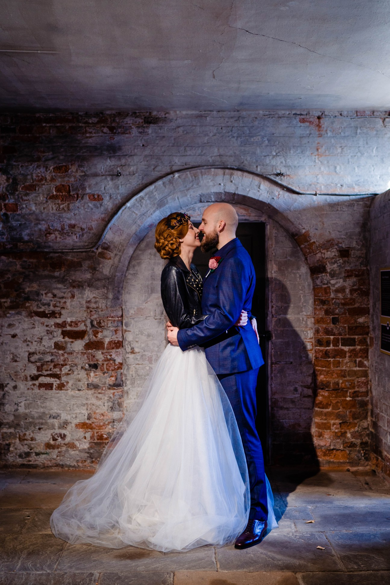 A gothic wedding - national justice museum wedding - alternative wedding - Vicki Clayson Photography (3)