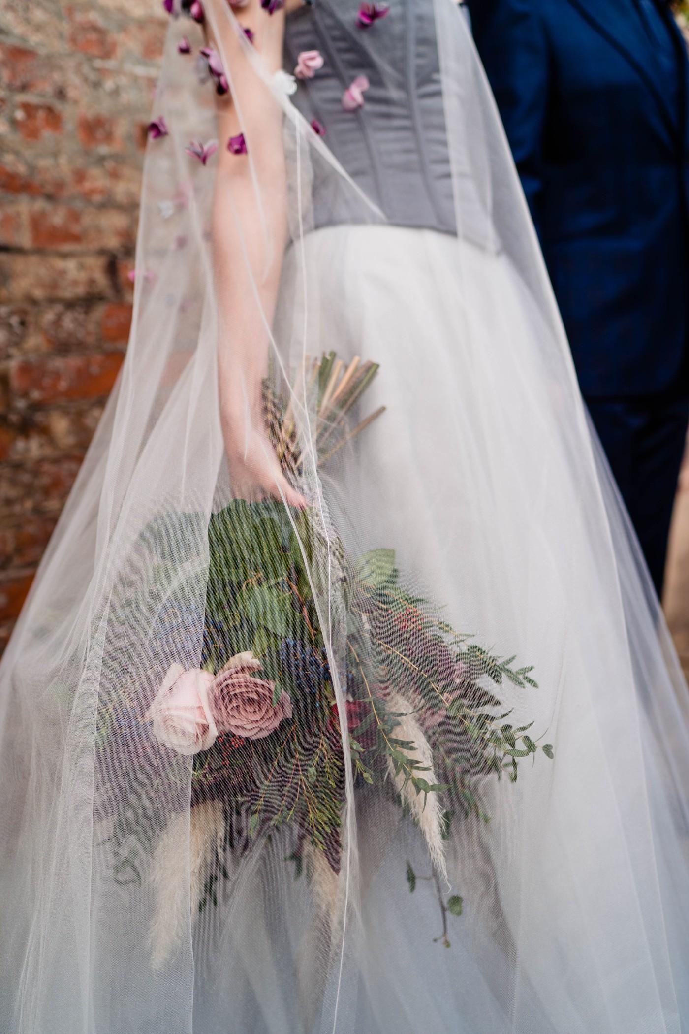 A gothic wedding - national justice museum wedding - alternative wedding - Vicki Clayson Photography (9)