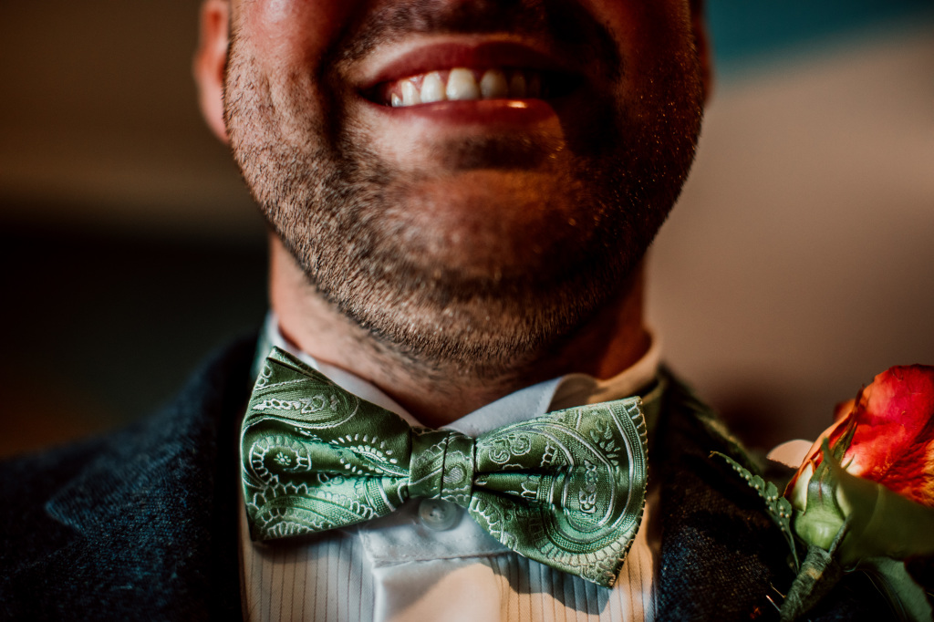 Alpaca Yurt Wedding- Bowtie