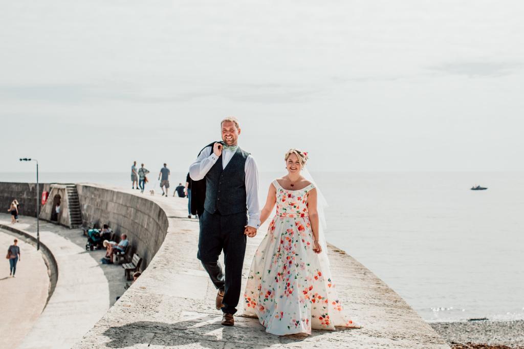 Alpaca Yurt Wedding - Walk
