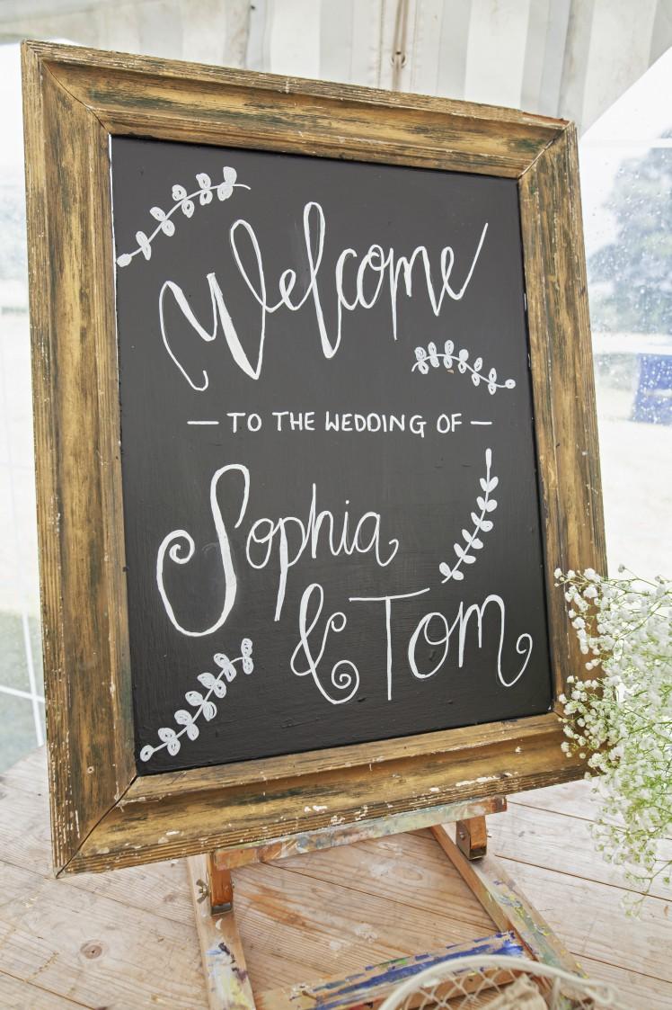 Steph Butt- Tom & Sophia- Sign