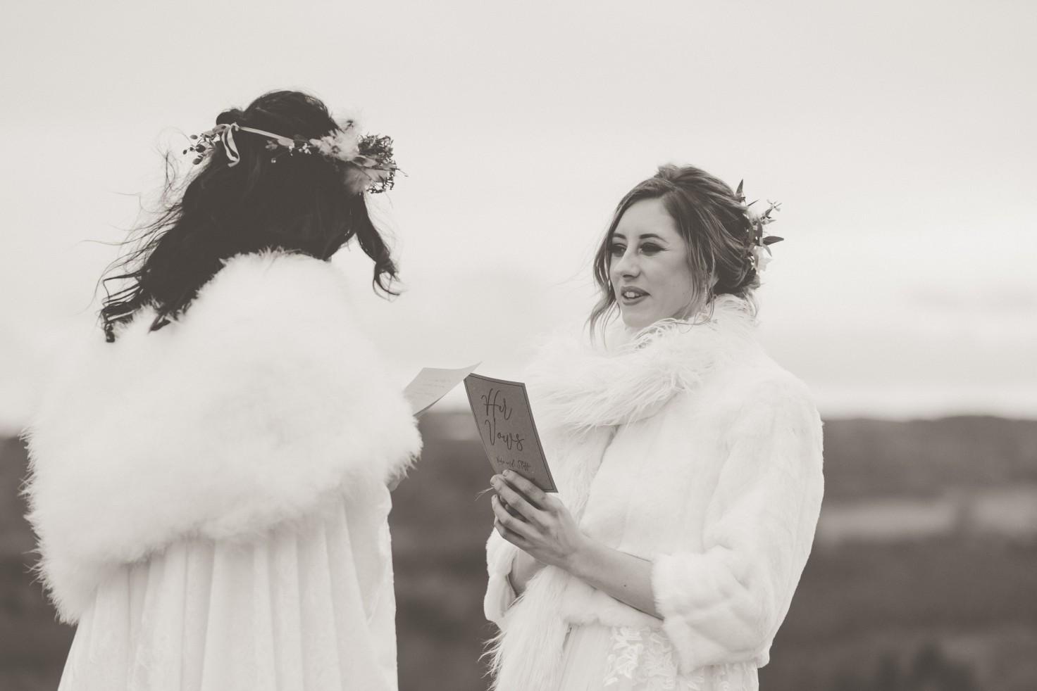 Emma Ryan- Elopement Wedding-Vows