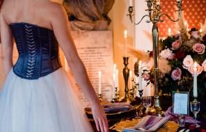 A gothic wedding - national justice museum wedding - alternative wedding - Vicki Clayson Photography (26)
