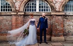 A gothic wedding - national justice museum wedding - alternative wedding - Vicki Clayson Photography (8)