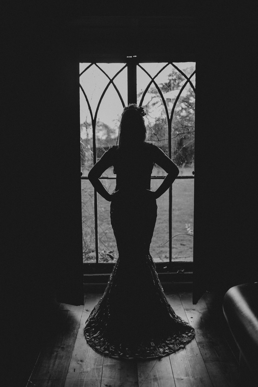 Nurstead Court Wedding- Silhouette