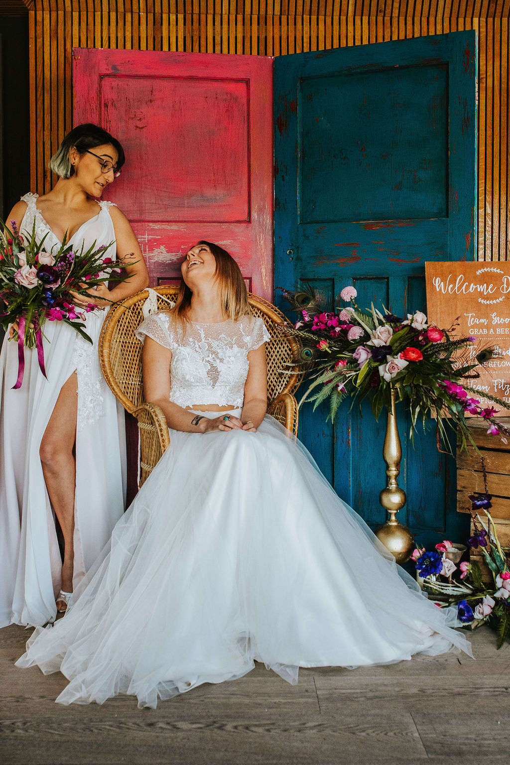 Olive Owl- Wedding Flowers-Laugh
