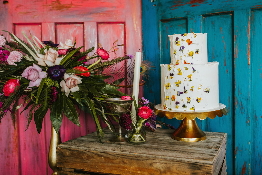 Olive Owl- Wedding Flowers-Table