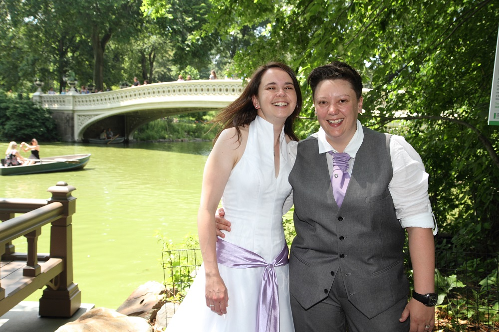 Wed in Central Park Wedding