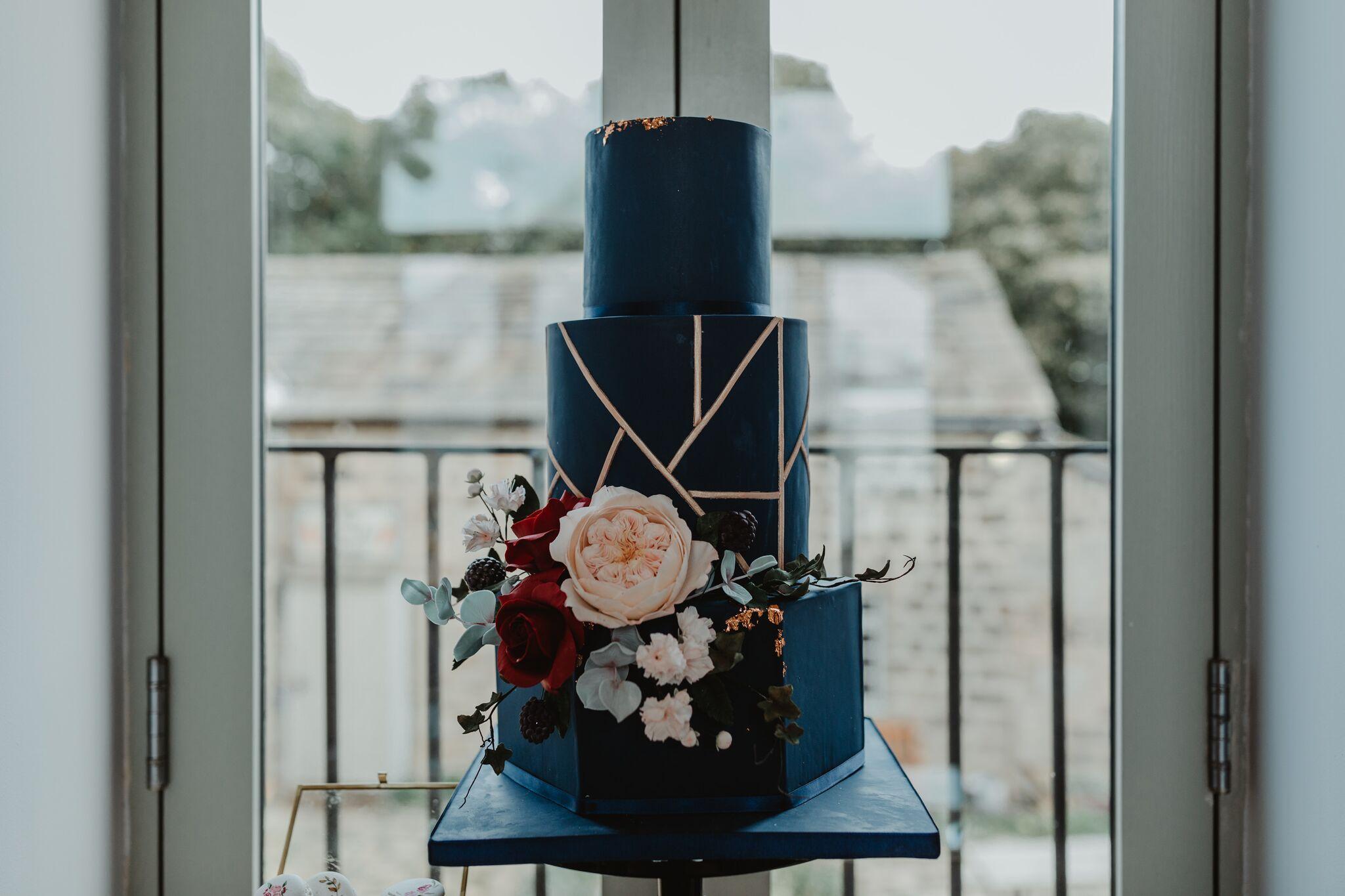 Where the Ribbon Ends - Alternative wedding cake - Creative wedding cake - quirky wedding cake -1