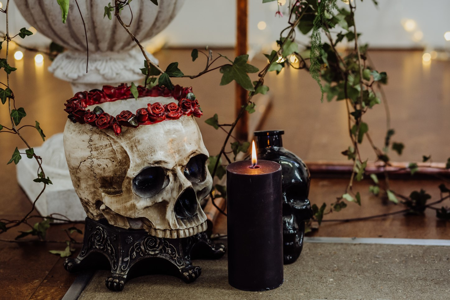 Arnos Vale- Same Sex Corpse Bride Wedding- Unconventional Wedding- Alternative Wedding- Gothic Wedding- Tim Burton Wedding