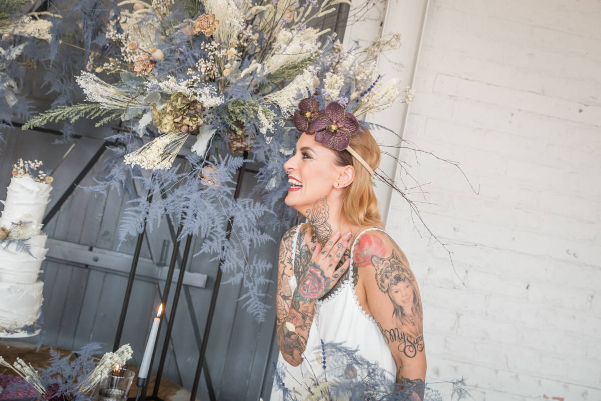 Jenny Madden Photography- Individual Wedding- Unconventional Wedding- Unique Wedding- Quirky Wedding- Alternative Wedding- Tattoed Bride