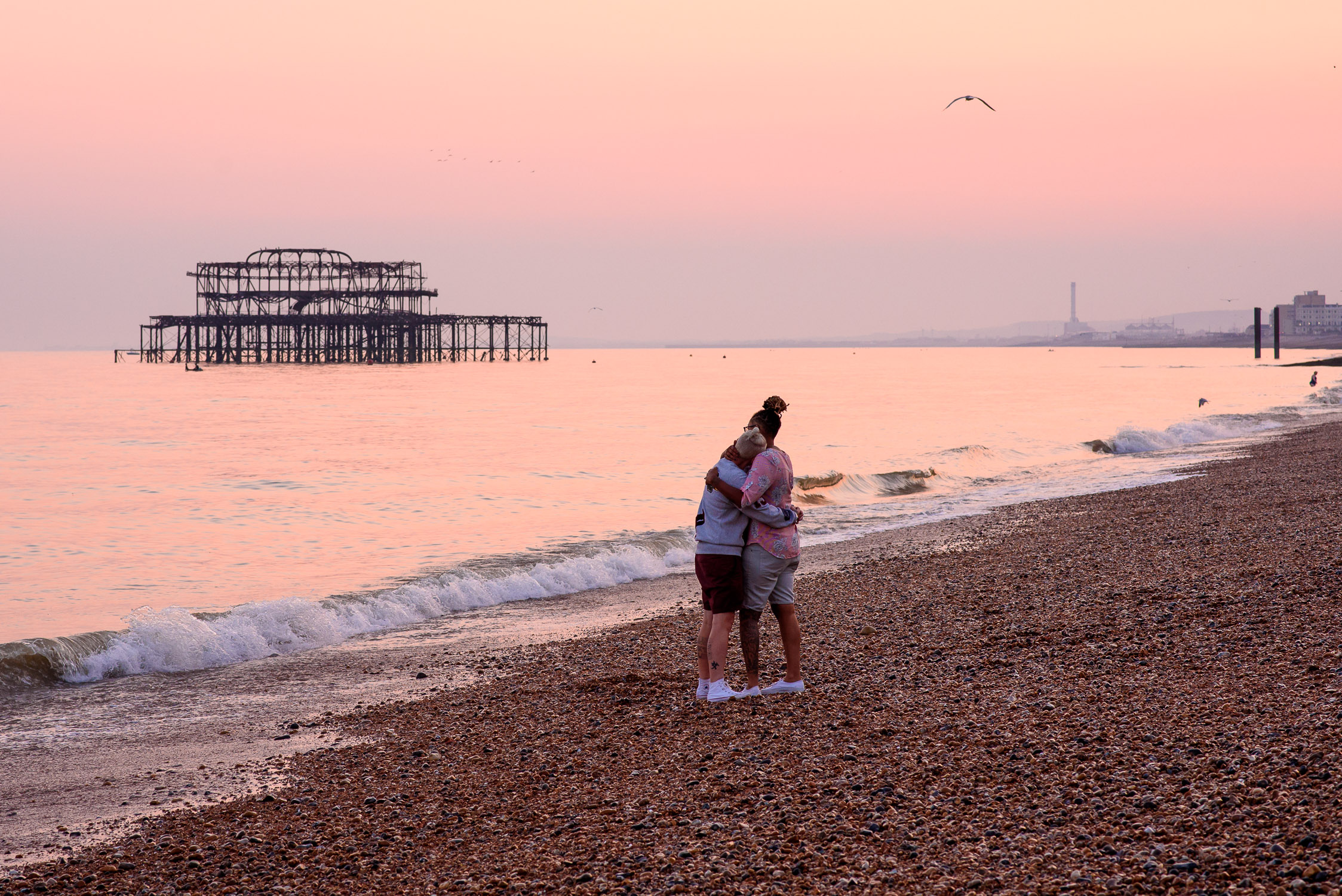 Brighton Wedding-Unique Engagement Photoshoot- Corina Photography- Pride Wedding- Brighton Pride- Unconventional Wedding- Quirky Wedding- Alternative Wedding