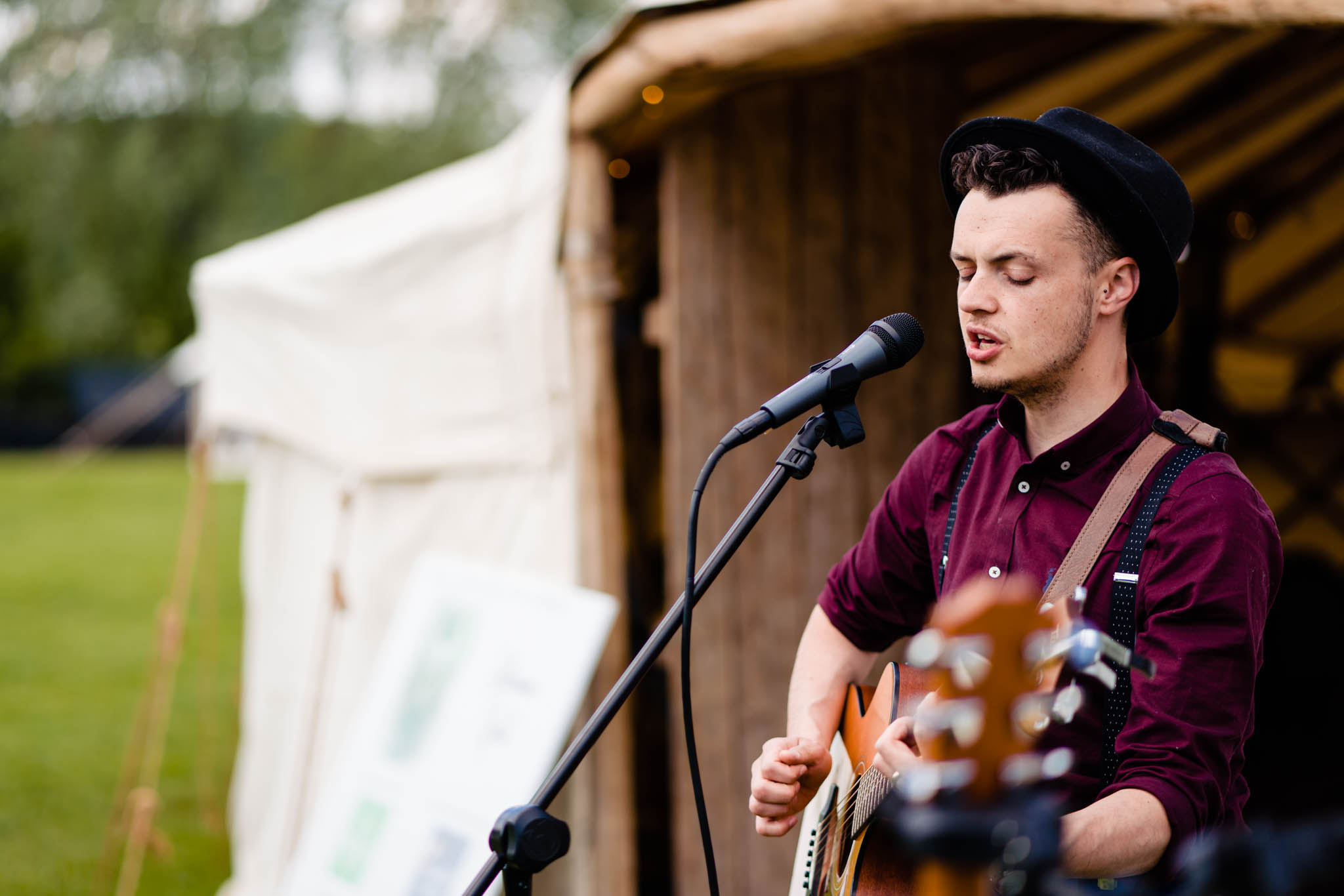 vicki clayson photography - ash francis music - unconventional wedding festival - how to plan a festival wedding