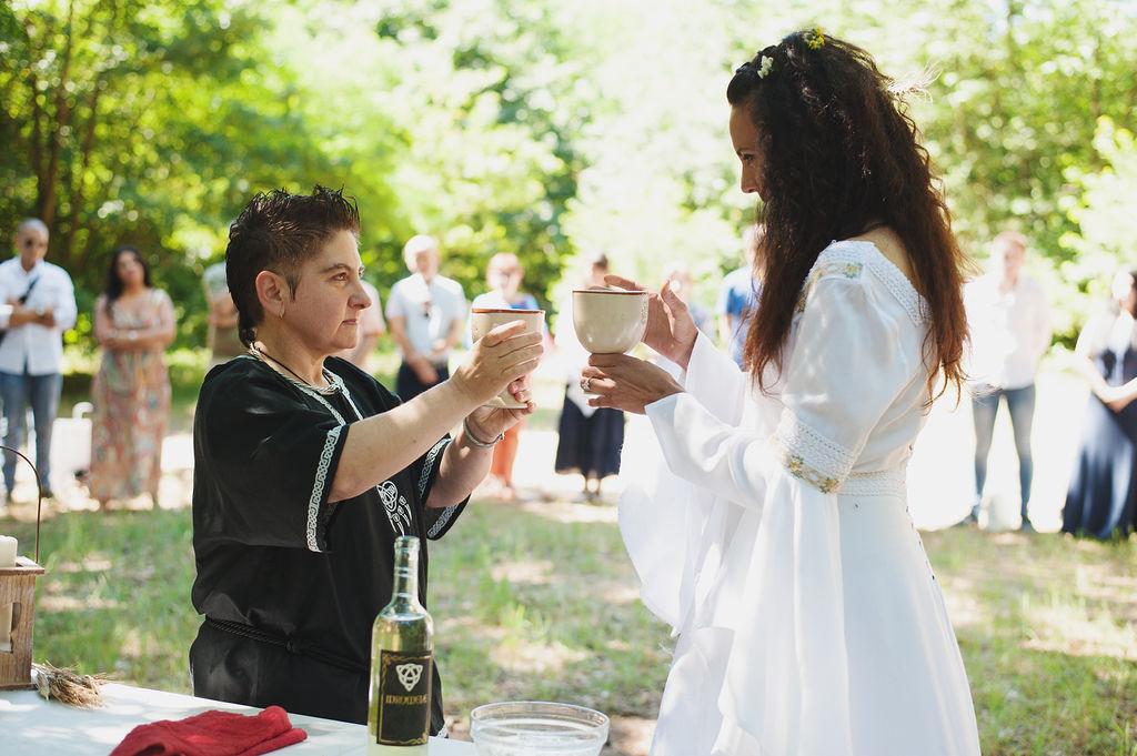 Celtic Weddings- Pagan Wedding- Neopagan Wedding- Irish Wedding- Wedding History- Handfasting- Wedding Ceremony- Outdoor Wedding- Nature Wedding- Unique Wedding Ideas- Hippie Wedding- Boho Wedding- Wedding Ritual- Unconventional Wedding- Quirky Wedding- Unique Wedding Dress-Same Sex Wedding