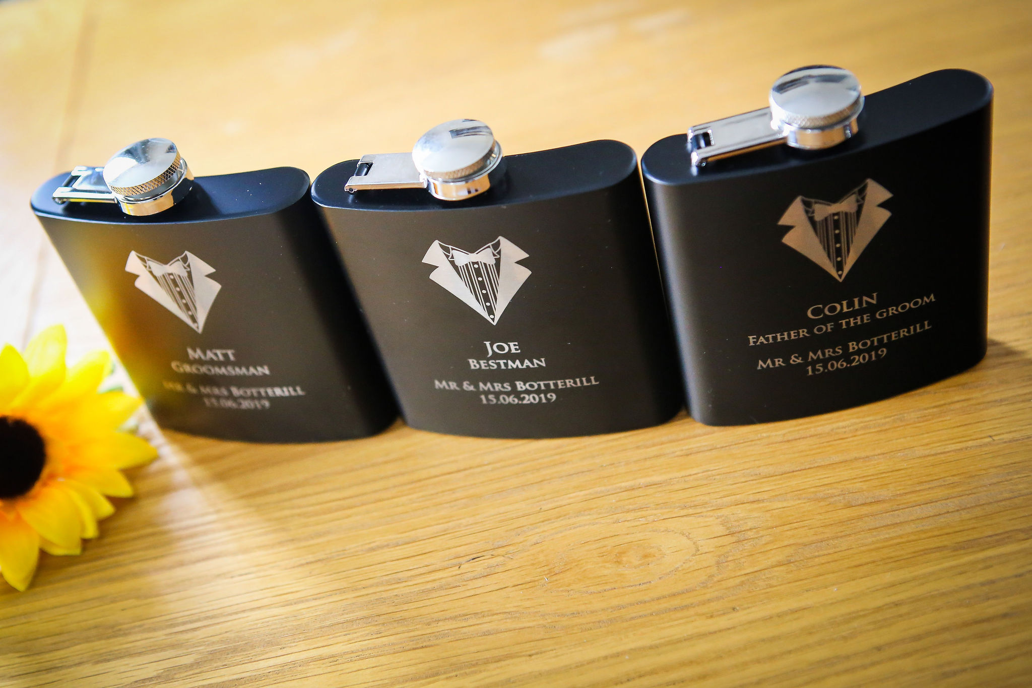 Harriet&Rhys Wedding - alternative groomsman gifts