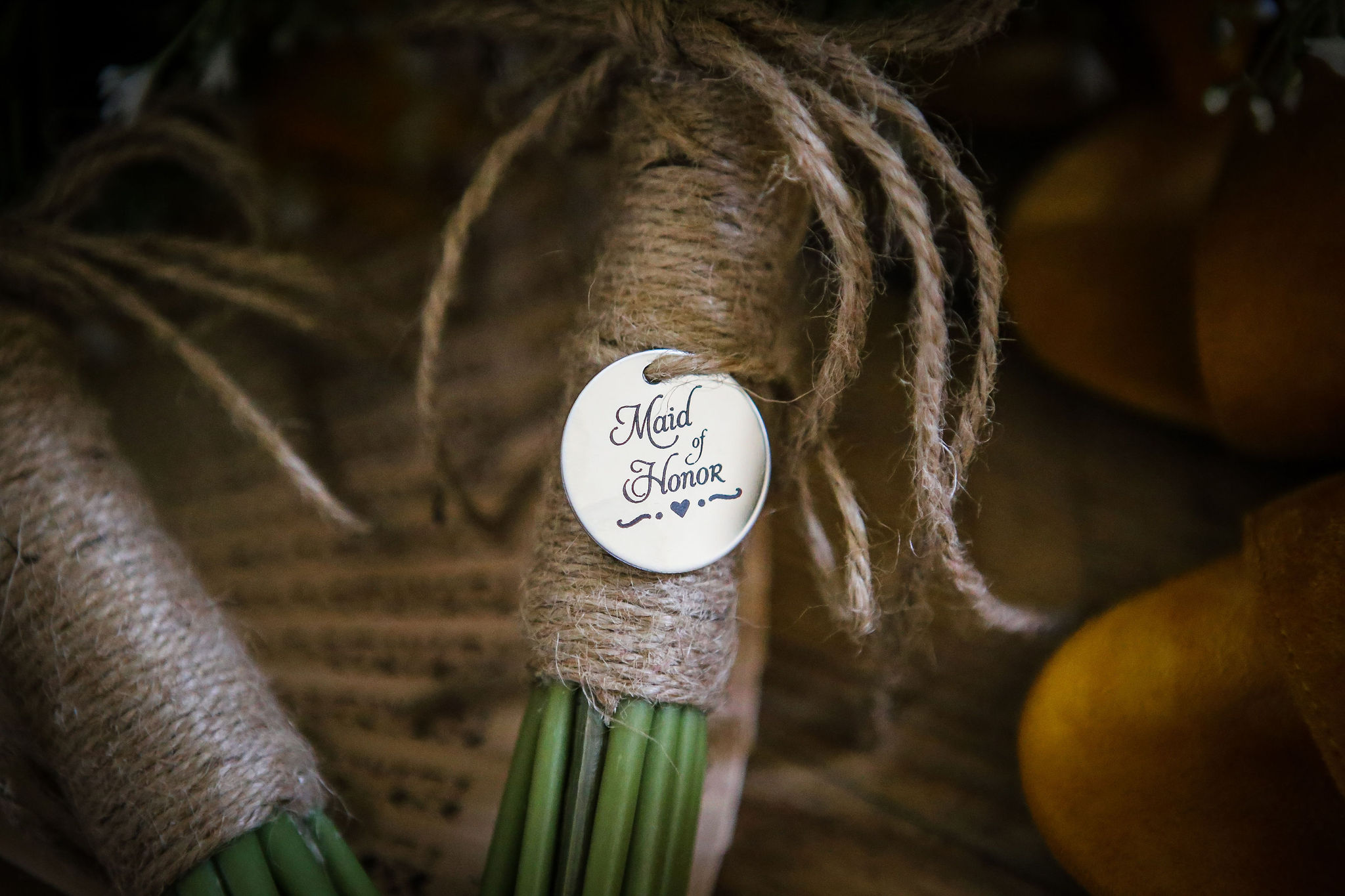 Harriet&Rhys Wedding - maid of honour bouquet detail
