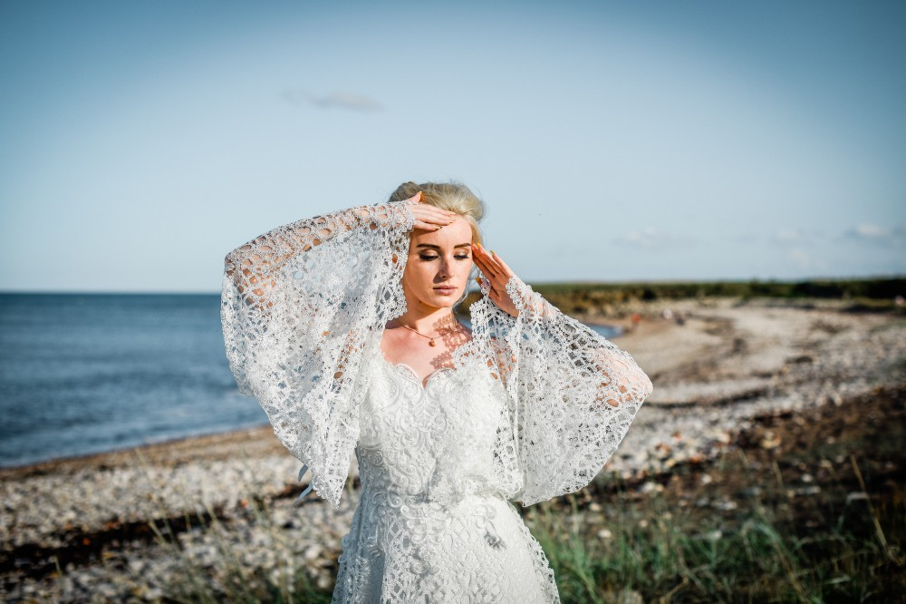 Bohemian Beach Wedding Inspiration- Unconventional Wedding- Boho Bride- Alternative Wedding Dress- Bohemian Wedding Dress- Unique Bridalwear- Wedding Blog