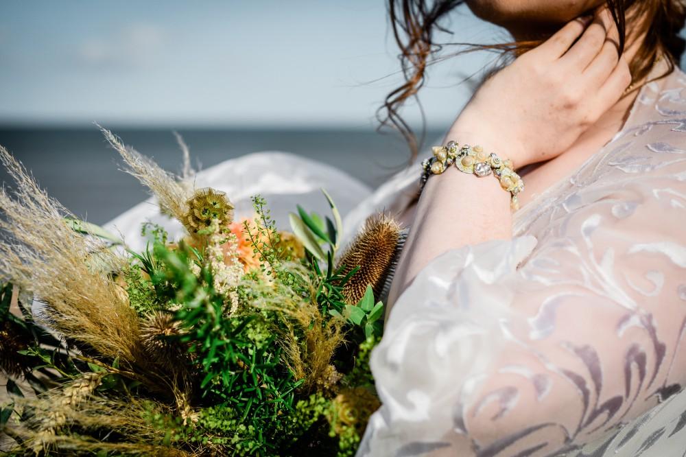 Bohemian Beach Wedding Inspiration- Bexbrides- Unconventional Wedding
