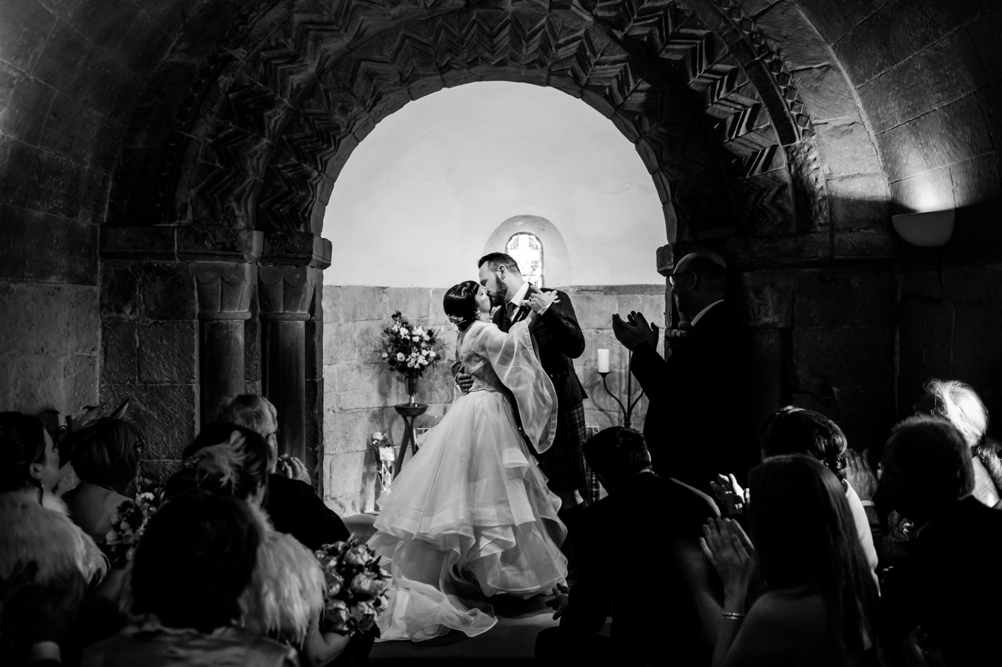 Unique Wedding Venues- Unconventional Wedding- Lina & Tom Photography- Wedding Ceremony in Castle