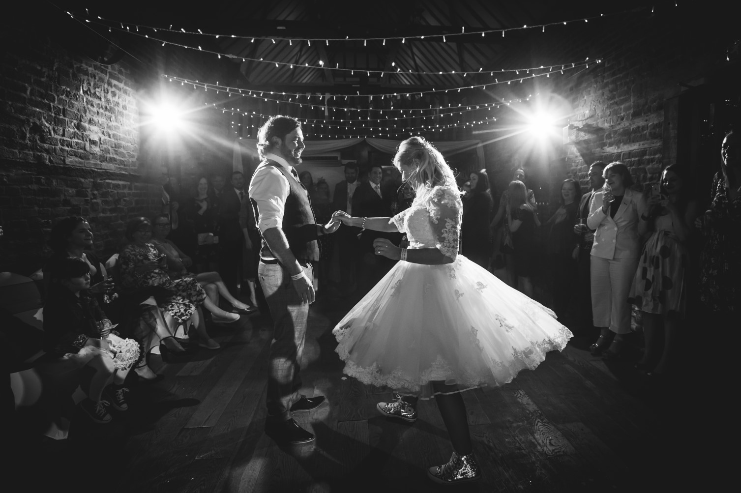rock and roll wedding- pike photography- unconventional wedding- alternative wedding- first dance