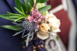 Big Day Blooms and Cakes - Wedding Florist - Wedding Cakes - Nottingham East Midlands - grooms button hole