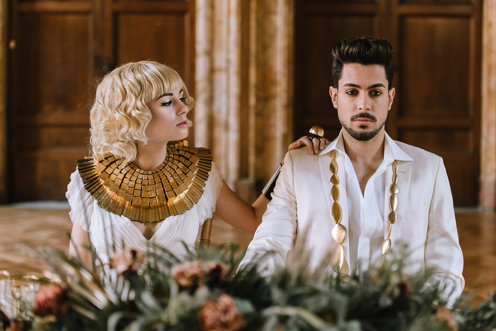 Wedding Inspiration- Marcella Cistola- unique bride and groom- stylish weddings