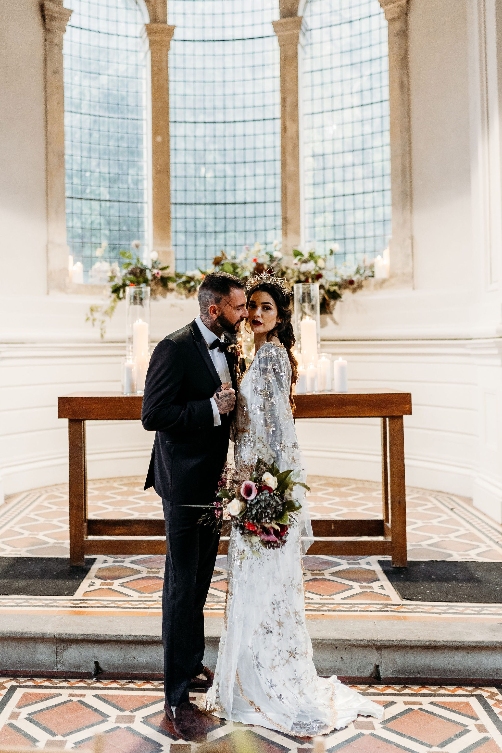 Leesha Williams Photography- Unconventional Wedding- Celestial Wedding Inspiration- alternative wedding- unique wedding photos