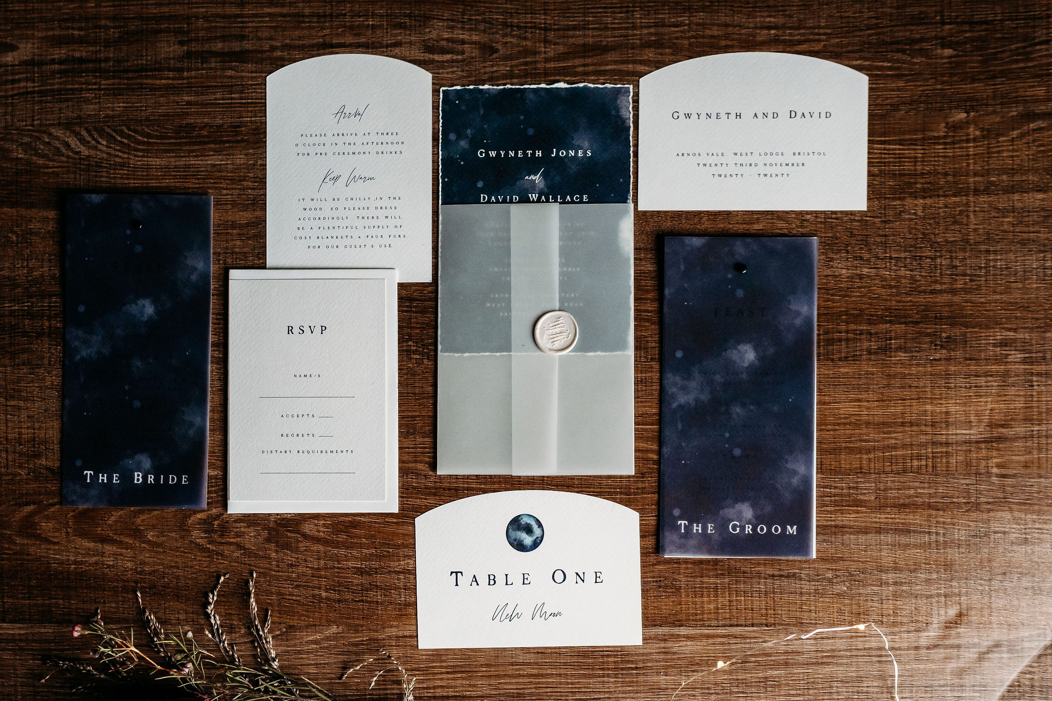 Leesha Williams Photography- Unconventional Wedding- Celestial Wedding Inspiration- alternative wedding