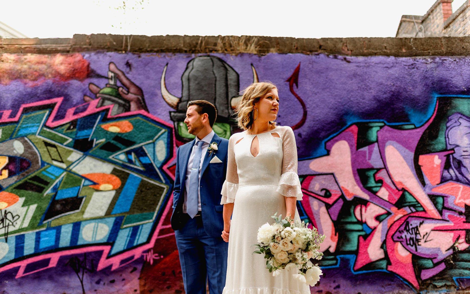 Digbeth Weddings- Lisa Carpenter Photos Birmingham Wedding Venues- Unique Birmingham Wedding Venue- The Best Alternative Wedding Venues- Unconventional Wedding