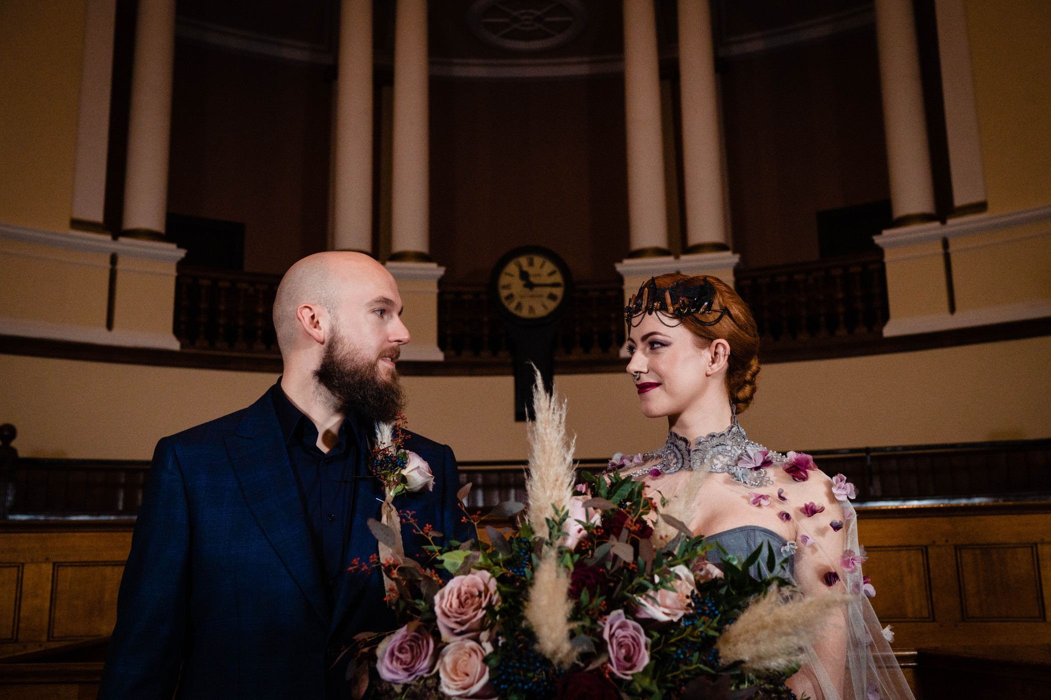 the national justice museum- vicki clayson photography- gothic wedding venue- alternative wedding inspiration- nottingham wedding venue- nottingham wedding suppliers- the best alternative wedding venues