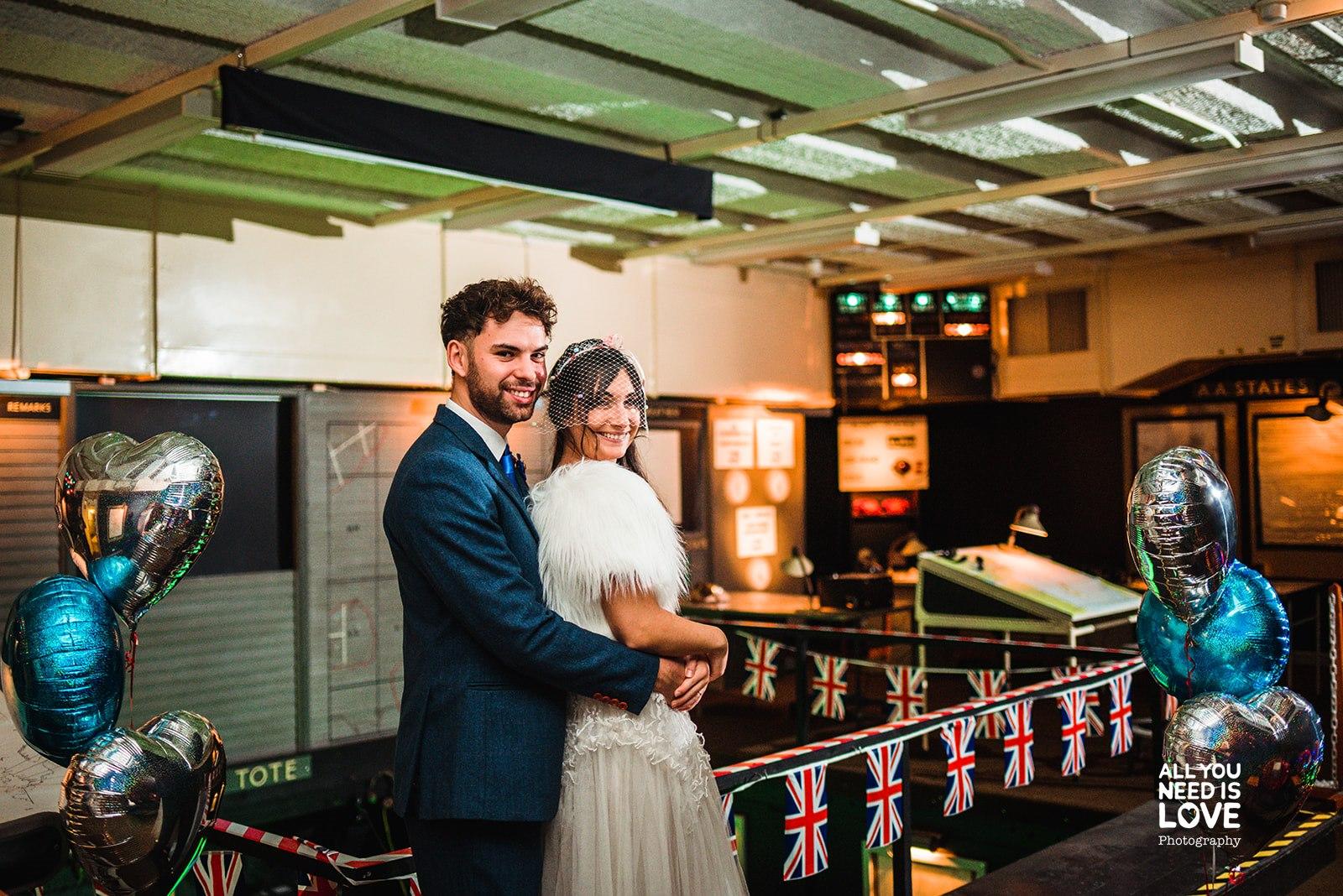 RAF Holmpton- All You Need Is Love Photography- Army Wedding Venue- Historic Wedding Venue- Underground wedding venue- unique wedding venue- the best alternative wedding venues- unconventional wedding- war bunker wedding