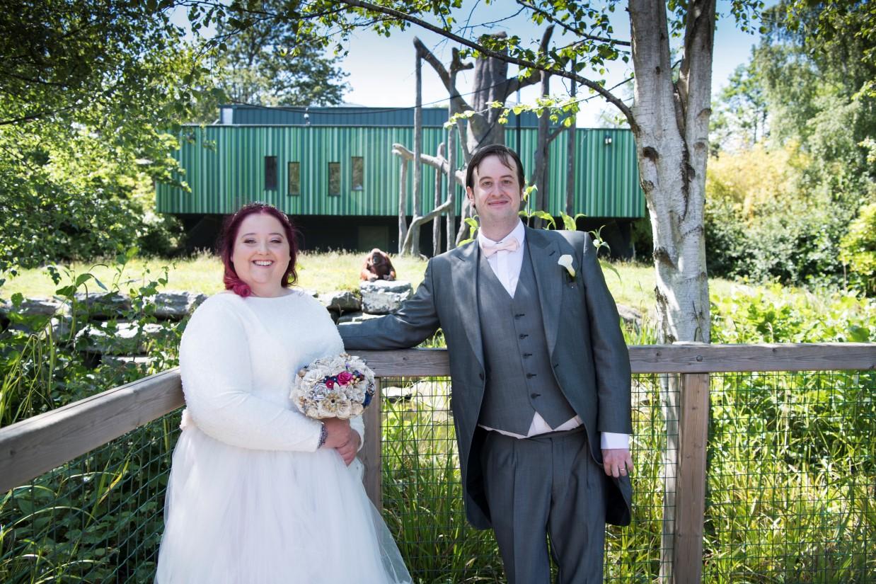 Zoo Wedding- Emma May Photography- Unconventional Wedding- Unique Wedding Inspiration- Dublin Zoo Wedding